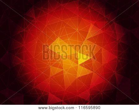 Ruby triangulated background