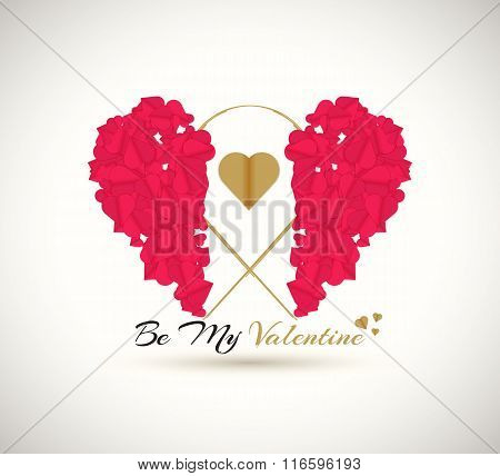 Happy valentines day. Be my Valentine