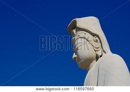 Ryozen Bodhisattva Avalokitesvara kannon statue