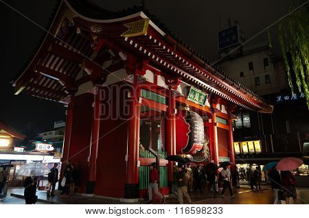 Kaminarimon In Asakusa