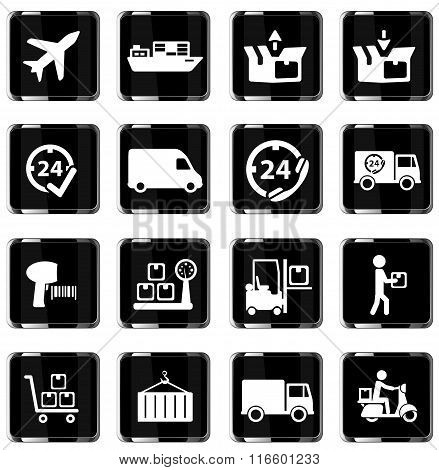 Delivery simply icons