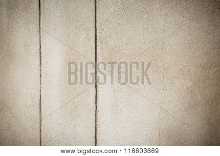 Plasterer Concrete On Wall Of House Construction