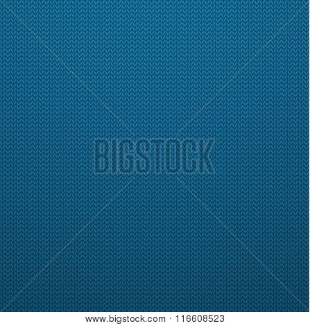Knitted Style Seamless Pattern. Vector EPS10 Seamless Jeans Patt