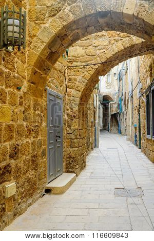 An Alley In The Old City, In Acre