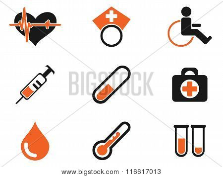 Medical simply icons