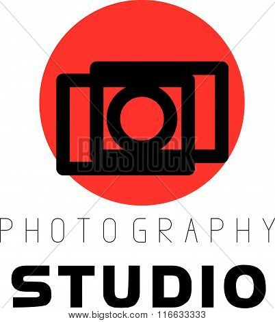Digital photo logothype design.