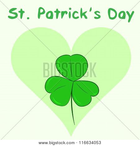 St. Patrick's Day and heart