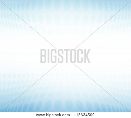 Abstract Blue Background Blur Effect