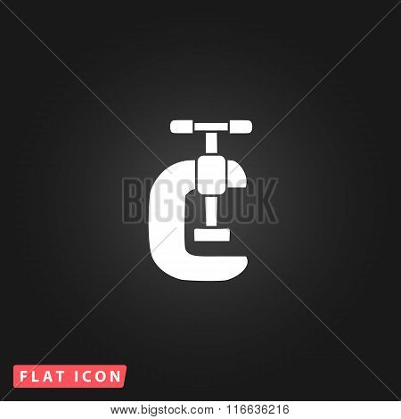 Press flat icon