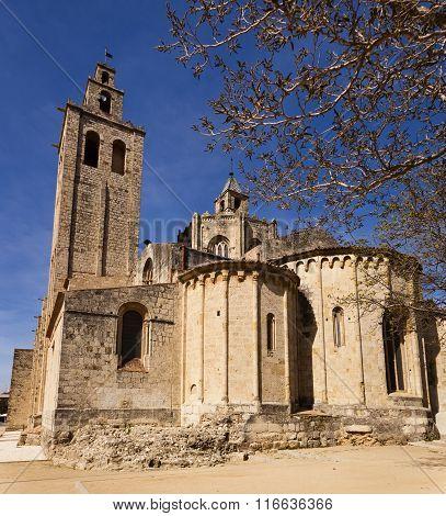 Romanesque Monastery Of Sant Cugat, Barcelona