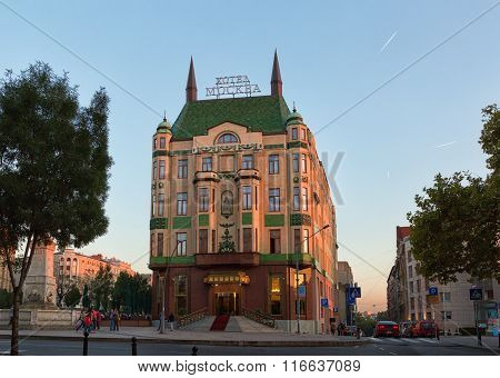 Hotel Moskva Is A Four Star Hotel In Belgrade