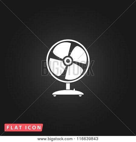 table fan - vector illustration