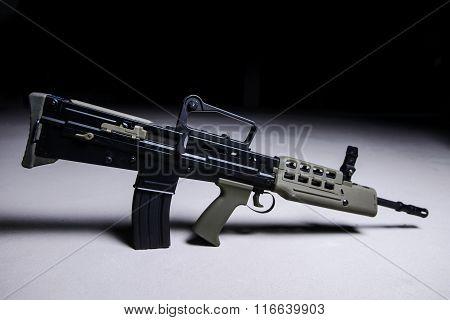 Modern Automatic Bullpup Rifle