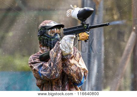 Smart Paintball Shooter