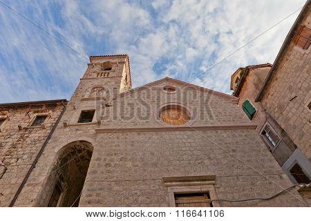 Franciscan Convent (17 C.) In Kotor, Montenegro