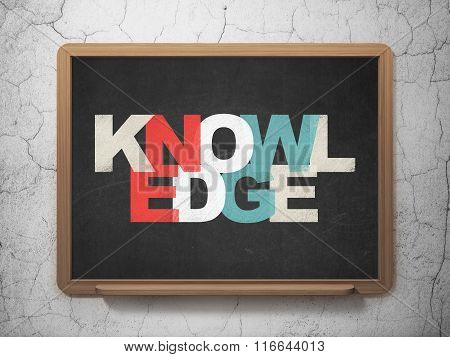 Learning concept: Knowledge on School Board background