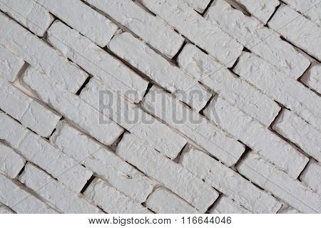 Grey Concrete Brick Wall, Texture As The Block Wall.