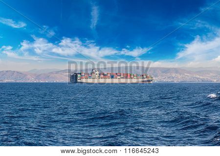 Commercial Cargo Ship