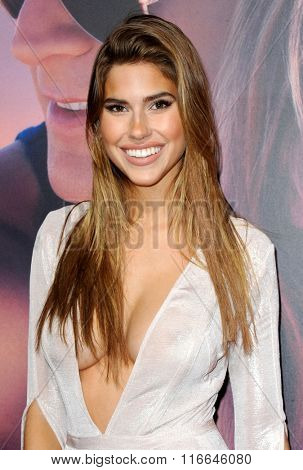 Kara Del Toro at the Los Angeles premiere of 'The Choice' held at the ArcLight Cinemas in Hollywood, USA on February 1, 2016.