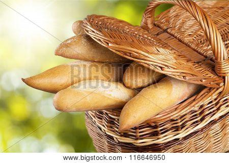 Bread Baguettes.