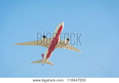 Jet Aircraft Silhouette