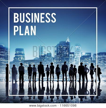 Business Plan Vision Strategy Direction Goals Tactics Concept