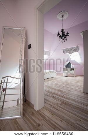 Entrance To Luxury Bedroom