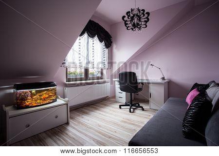 Cozy Room For Teenage Girl