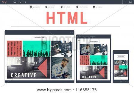 HTML Network Coding Website Internet Concept