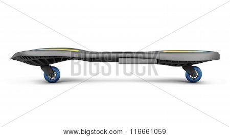 Skateboard isolated on white background. 3d render image