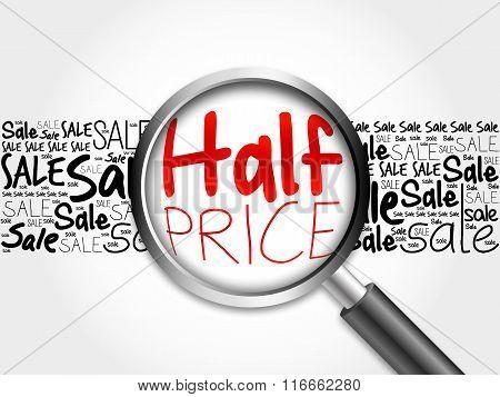 Half Price Word Cloud