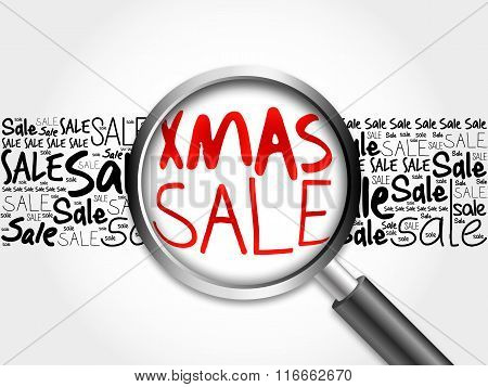 Xmas Sale Word Cloud