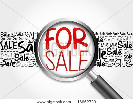 For Sale Word Cloud