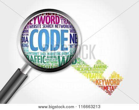 Code Key Word Cloud