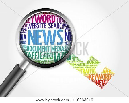 News Key Word Cloud