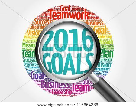 2016 Goals Word Cloud