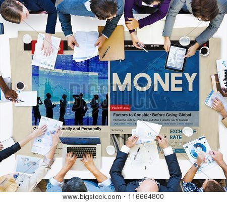 Money Budget Finance Payment Wealth Concept