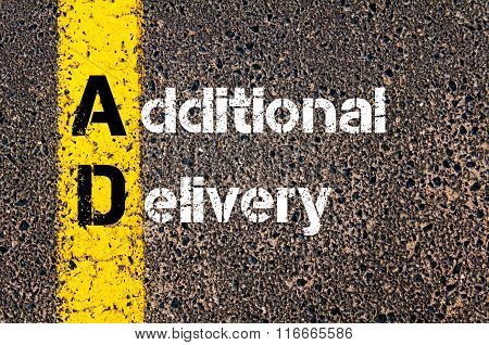 Business Acronym Ad Additional Delivery