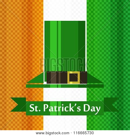 st patrick day irish flag