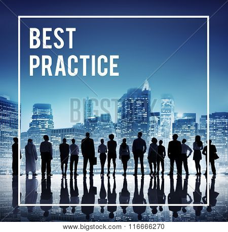 Best Practice Training Rehearsal Implementation Concept