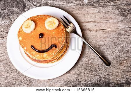 Pancakes With Smile
