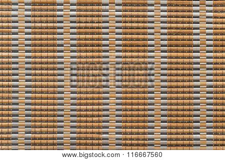 Corrugated Texture With Interlacings And A Striped Pattern