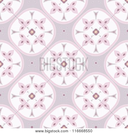 Abstract seamless ornament pattern vector illustration.