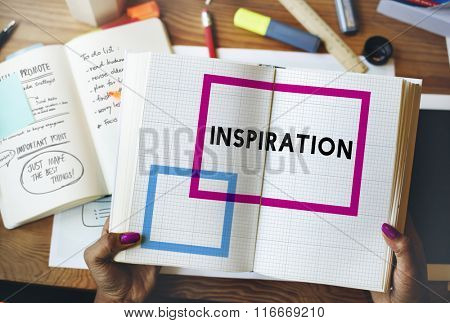 Inspiration Imagination Motivation Encourage Inspiring Concept