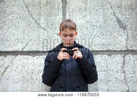 Kid With Cellphone