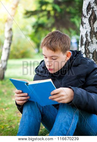 Teenager With The Book
