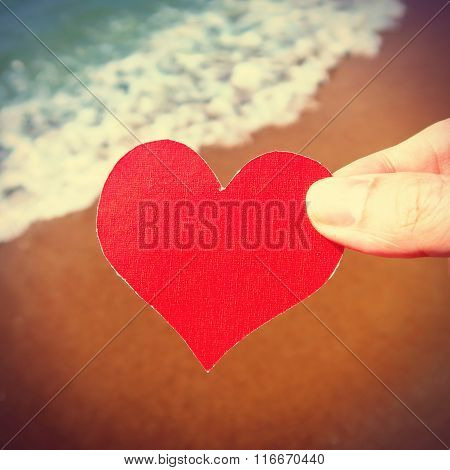 Heart On The Seashore