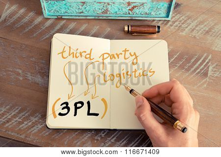 Business Acronym 3Pl Third Party Logistics