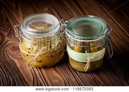 Natural Diy Cucumber And Tomato Pickles