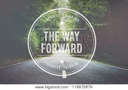 The Way Forward Target Goals Aspiration Development Concept